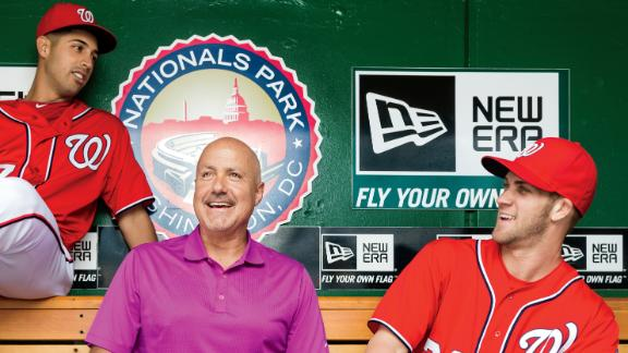 Mike Rizzo, the Nationals' General Manager. (Photo courtesy of ESPN.)