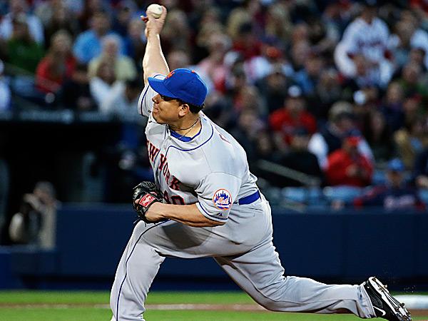 Mets starting pitcher Bartolo Colon. (David Goldman/AP)